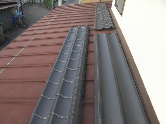張替え前のトタン屋根
